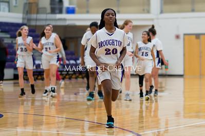 Broughton Lady Caps JV basketball vs Leesville. December 18, 2019. D4S_9809