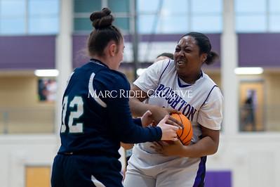 Broughton Lady Caps JV basketball vs Leesville. December 18, 2019. D4S_9698
