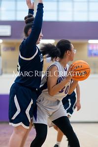 Broughton Lady Caps JV basketball vs Leesville. December 18, 2019. D4S_9686