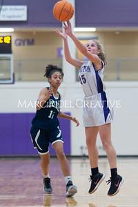 Broughton Lady Caps JV basketball vs Leesville. December 18, 2019. D4S_9672