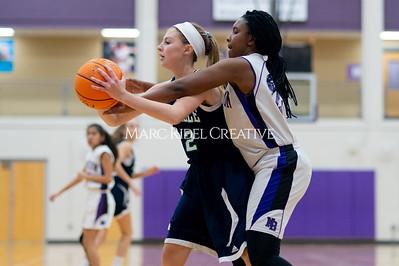 Broughton Lady Caps JV basketball vs Leesville. December 18, 2019. D4S_9737