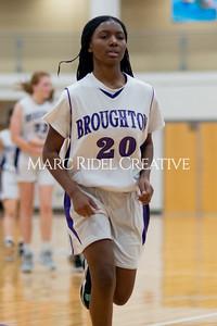 Broughton Lady Caps JV basketball vs Leesville. December 18, 2019. D4S_9810