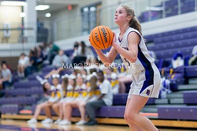 Broughton Lady Caps JV basketball vs Leesville. December 18, 2019. D4S_9700