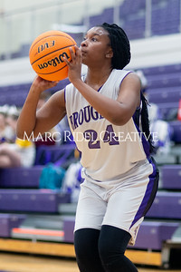 Broughton Lady Caps JV basketball vs Leesville. December 18, 2019. D4S_9751