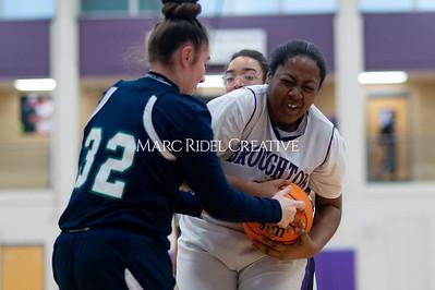 Broughton Lady Caps JV basketball vs Leesville. December 18, 2019. D4S_9699