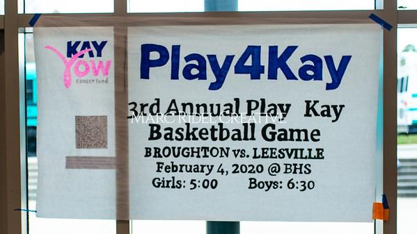 Broughton girls varsity vs Leesville. Play4Kay. February 4, 2020. D4S_9527