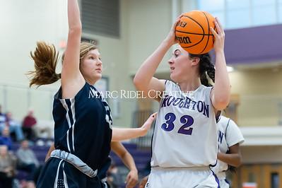 Broughton girls JV basketball vs Milbrook. February 13, 2020. D4S_4112