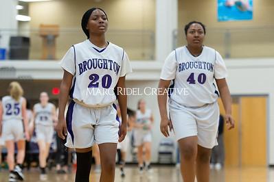 Broughton girls JV basketball vs Milbrook. February 13, 2020. D4S_4129