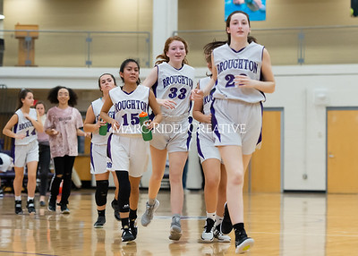 Broughton girls JV basketball vs Milbrook. February 13, 2020. D4S_4135