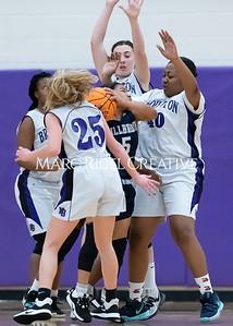 Broughton girls JV basketball vs Milbrook. February 13, 2020. MRC_4691