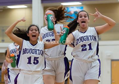 Broughton girls JV basketball vs Milbrook. February 13, 2020. D4S_4138