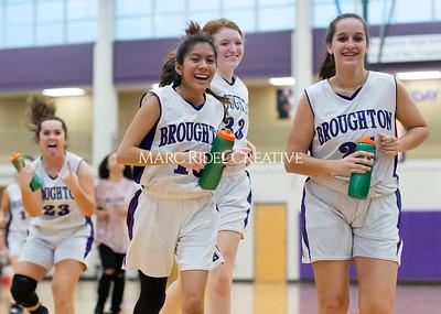 Broughton girls JV basketball vs Milbrook. February 13, 2020. D4S_4141