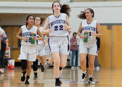 Broughton girls JV basketball vs Milbrook. February 13, 2020. D4S_4133
