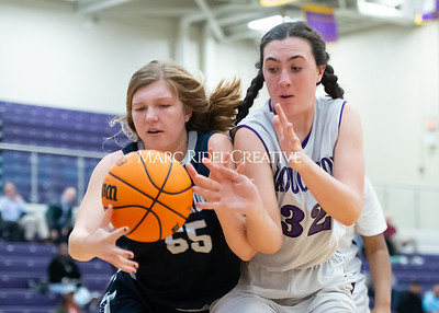 Broughton girls JV basketball vs Milbrook. February 13, 2020. D4S_4124
