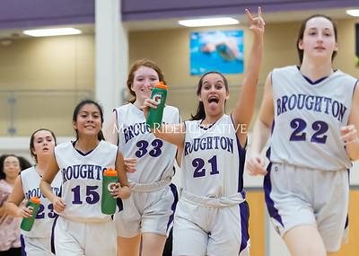 Broughton girls JV basketball vs Milbrook. February 13, 2020. D4S_4137