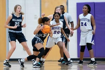 Broughton girls JV basketball vs Milbrook. February 13, 2020. MRC_4689