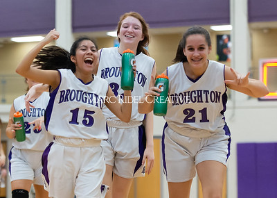 Broughton girls JV basketball vs Milbrook. February 13, 2020. D4S_4139