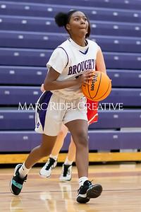 Broughton JV girls basketball vs Sanderson. January 9, 2020. MRC_0262