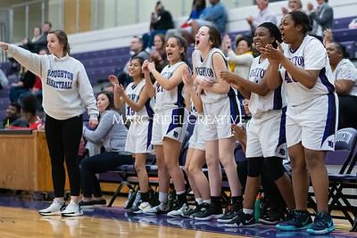 Broughton JV girls basketball vs Sanderson. January 9, 2020. MRC_0326