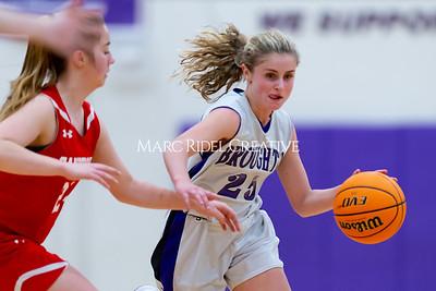 Broughton JV girls basketball vs Sanderson. January 9, 2020. D4S_7494
