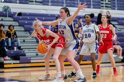 Broughton JV girls basketball vs Sanderson. January 9, 2020. MRC_0312