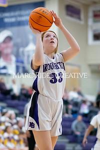 Broughton JV girls basketball vs Sanderson. January 9, 2020. MRC_0271