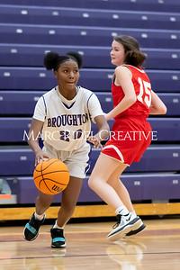 Broughton JV girls basketball vs Sanderson. January 9, 2020. MRC_0261