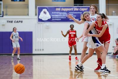Broughton JV girls basketball vs Sanderson. January 9, 2020. MRC_0278