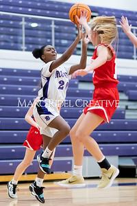 Broughton JV girls basketball vs Sanderson. January 9, 2020. MRC_0263