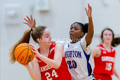 Broughton JV girls basketball vs Sanderson. January 9, 2020. D4S_7499