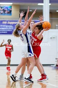 Broughton JV girls basketball vs Sanderson. January 9, 2020. MRC_0277