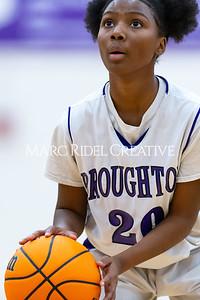 Broughton JV girls basketball vs Sanderson. January 9, 2020. D4S_7514