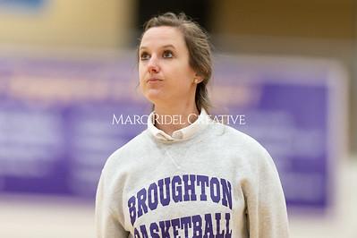 Broughton JV girls basketball vs Sanderson. January 9, 2020. D4S_7455