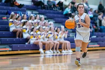 Broughton JV girls basketball vs Sanderson. January 9, 2020. MRC_0318