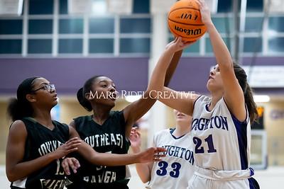 Broughton JV basketball vs Southeast Raleigh. December 12, 2019. MRC_8634