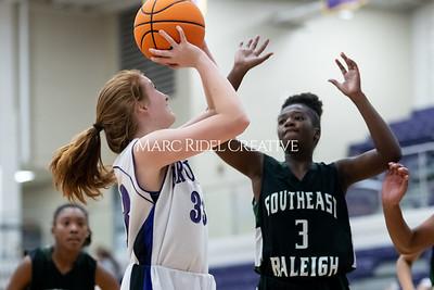 Broughton JV basketball vs Southeast Raleigh. December 12, 2019. MRC_8662