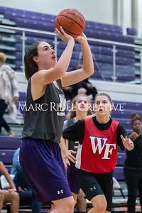 Broughton girls basketball vs Wake Forest. November 14, 2019. D4S_9536
