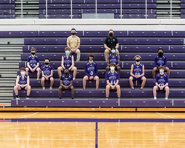 Broughton JV and varsity basketball team photos. February 10, 2021