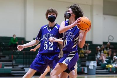 Broughton JV girls and boys basketball vs Cardinal Gibbons. February 15, 2021
