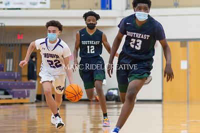 Broughton basketball vs Southeast Raleigh. January 14, 2021