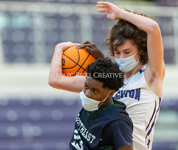 Broughton basketball vs Southeast Raleigh. January 14, 2021