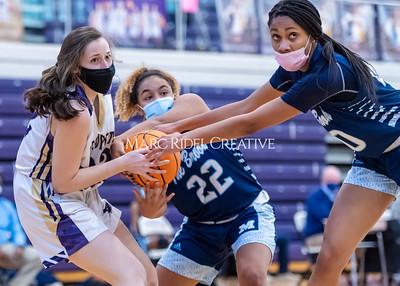 Broughton girls varsity vs Millbrook. February 18, 2021