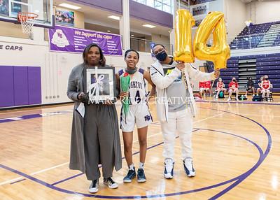 Broughton girls varsity basketball vs Sanderson. February 17, 2021