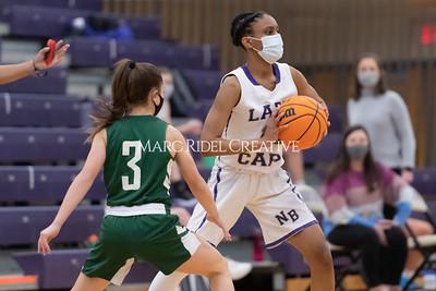 Broughton JV basketball vs Cardinal Gibbons. January 19, 2021