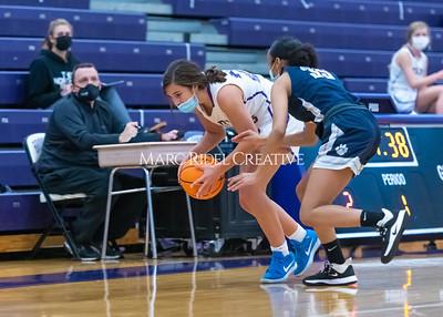 Broughton JV basketball vs Millbrook. January 25, 2021
