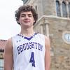 Broughton boys basketball seniors photoshoot. December 30, 2020