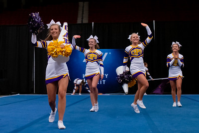 Broughton cheerleading Pre-States. November 16, 2019. D4S_1677