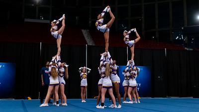 Broughton cheerleading Pre-States. November 16, 2019. D4S_1714