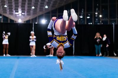 Broughton cheerleading Pre-States. November 16, 2019. D4S_1658