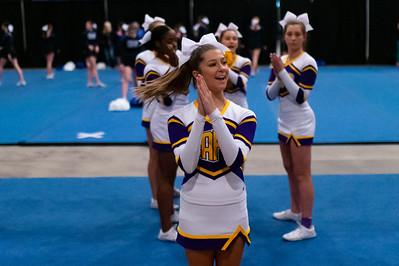 Broughton cheerleading Pre-States. November 16, 2019. D4S_1619